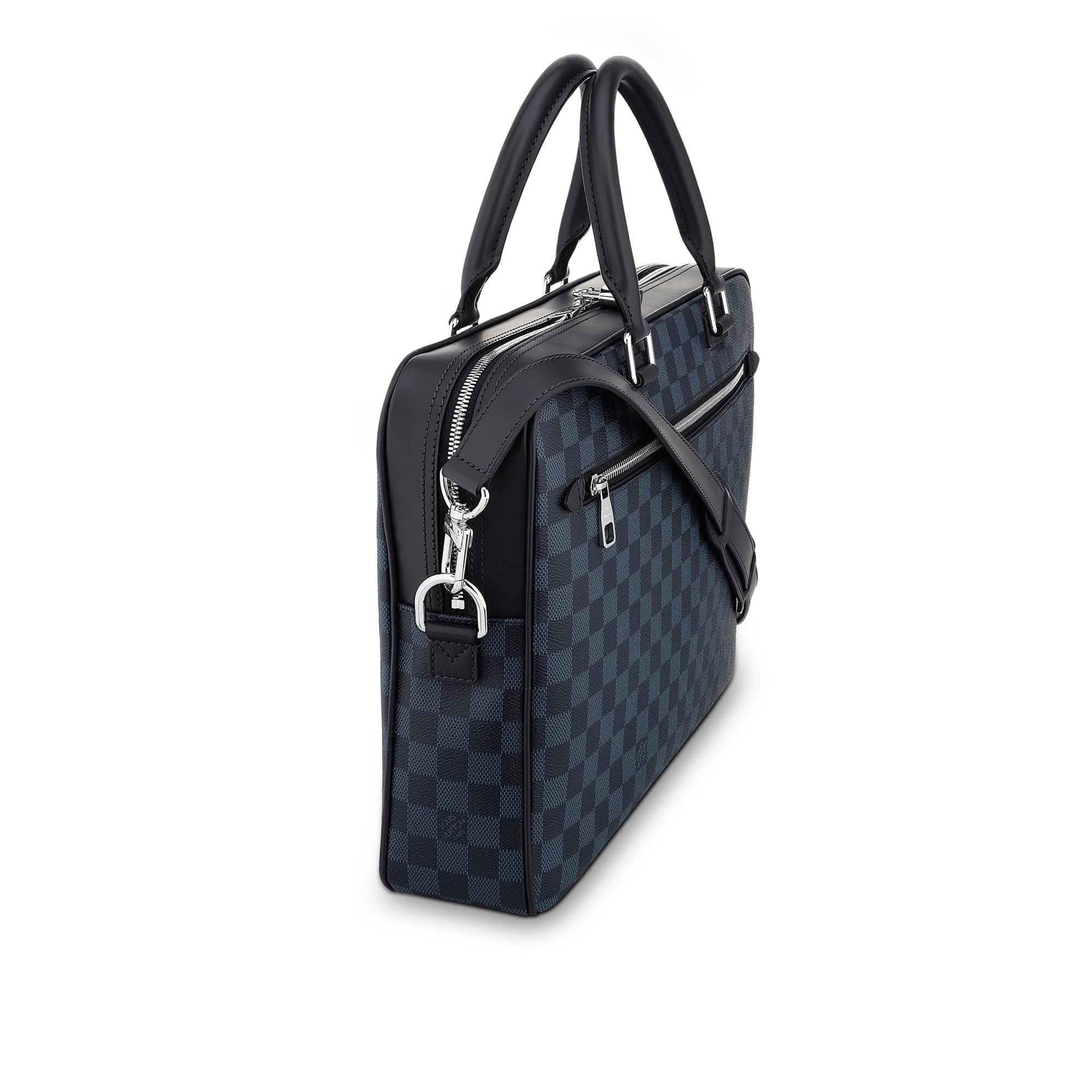 Toile Damier Cobalt SACS HOMMES  Porte Document Business  | Louis Vuitton ®